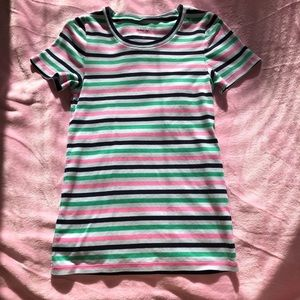 J CREW Perfect Fit 100% Cotton Tee Sz Med EUC